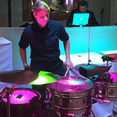 Live Percussionist for your New Jersey Wedding